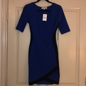 Blue and black dress from Kohl's